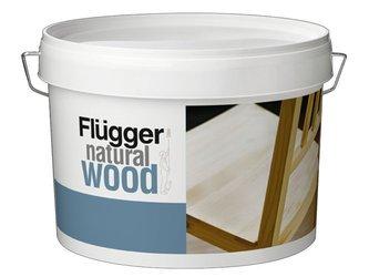 Flugger Natural Wood Lakier do drewna PÓŁMAT 0,75L
