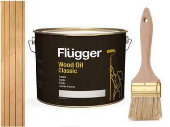 Flügger Wood Oil Classic olej do TARASU DREWNA 10L