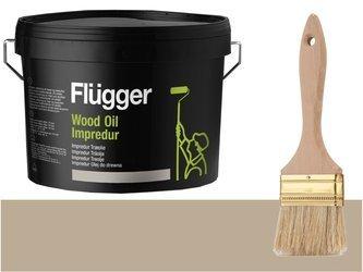 Flugger Wood Oil Impredur olej tarasu 2,8 SZARY