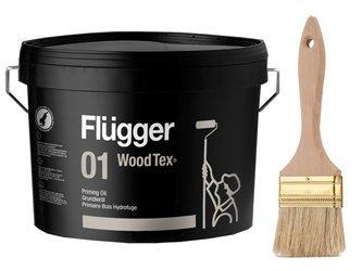 Flugger Wood Tex olej grunt tarasu drewna 10 L