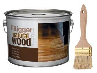 Flugger olej do podłóg drewna 0,75L BIAŁY 7m2