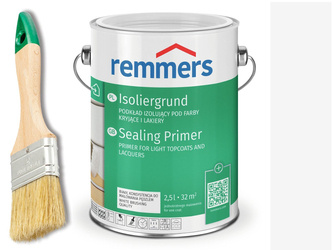 ISOLIERGRUND REMMERS podkład do drewna BIAŁY 0,75L