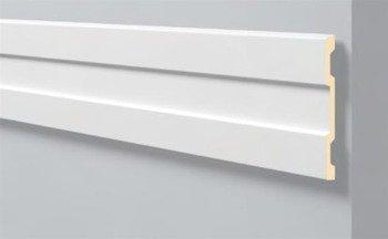 LISTWA ŚCIENNA BIAŁA ARSTYL Z60 210 x 20 mm