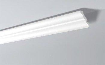 LISTWY PRZYSUFITOWE Białe NOMASTYL SM 105x95mm
