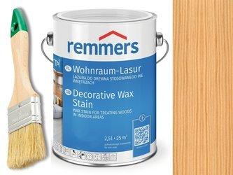 Lazura woskowa Remmers do wnętrz 0,75L BEZBARWNY
