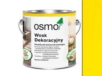 OSMO 3105 wosk dekoracyjny ŻÓŁTY KADMOWY 0,375L