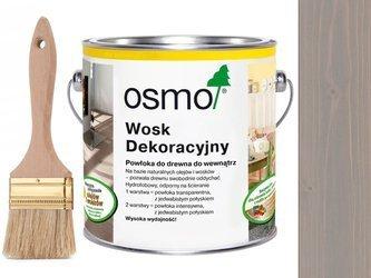 OSMO 3119 wosk dekoracyjny JEDWABISTY SZARY 2,5L