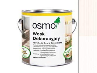 OSMO 3186 wosk dekoracyjny MATOWA BIEL 25L