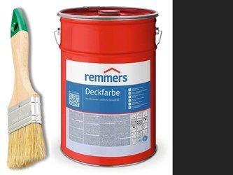 Remmers Farba do drzwi mebli ocynk CZARNY 10 L