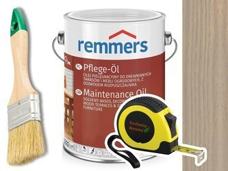 Remmers Pflege-Ol olej do tarasu SREBRNOSZARY 2,5L
