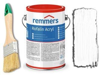Remmers Rofalin Acryl farba do drewna BIAŁA 20L