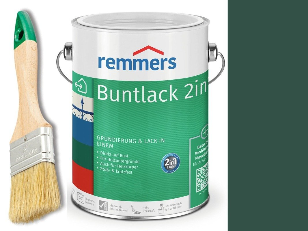 Farba renowacyjna grzejnik Remmers ZIELONA 0,75 L