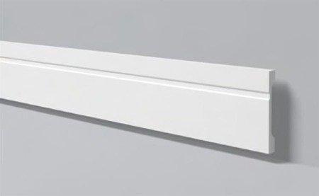LISTWA PRZYPODŁOGOWA BIAŁA WALLSTYL FD15 150x 18mm