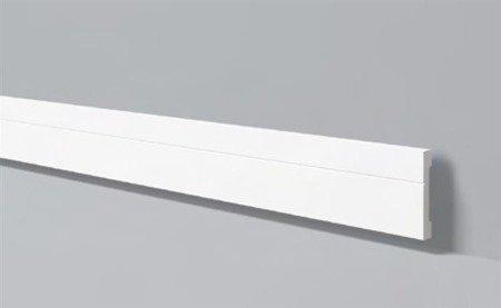 LISTWA PRZYPODŁOGOWA BIAŁA WALLSTYL FD2 110 x 15mm