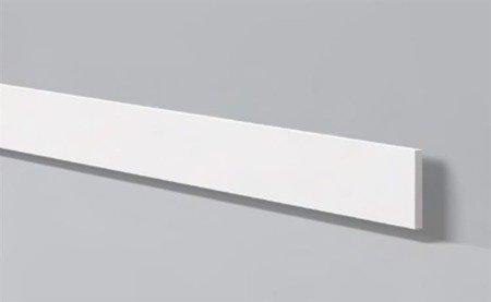 LISTWA PRZYPODŁOGOWA BIAŁA WALLSTYL FL9 100 X 8 mm