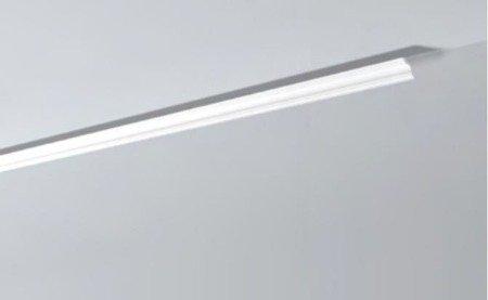 LISTWY PRZYSUFITOWE Białe NOMASTYL A3 30x30mm