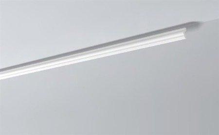 LISTWY PRZYSUFITOWE Białe NOMASTYL I 40x15mm