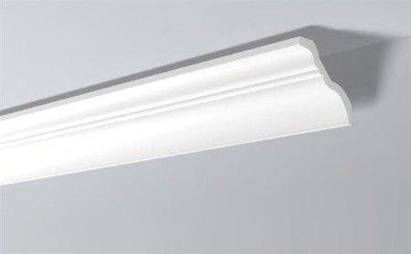 LISTWY PRZYSUFITOWE Białe NOMASTYL TI 140x140mm