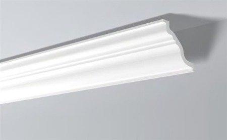 LISTWY PRZYSUFITOWE Białe NOMASTYL TL 30x20mm