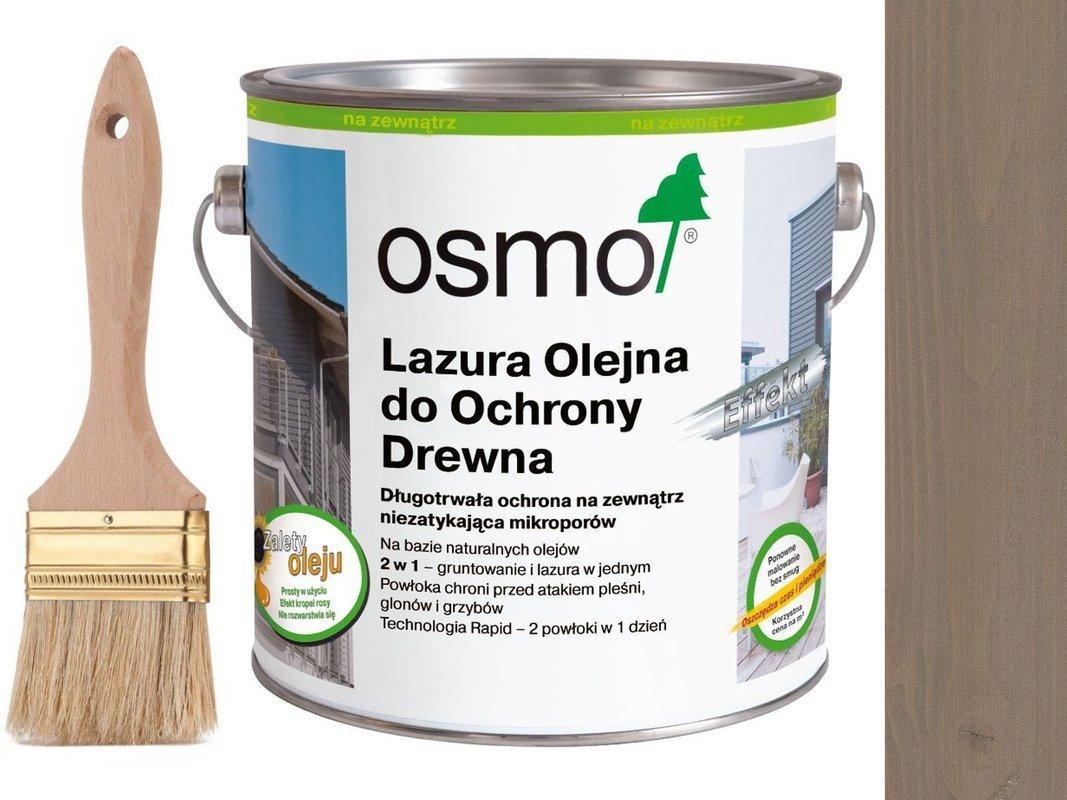 OSMO 1142 Lazura Olejna Efekt SREBRNY GRAFIT 750ml