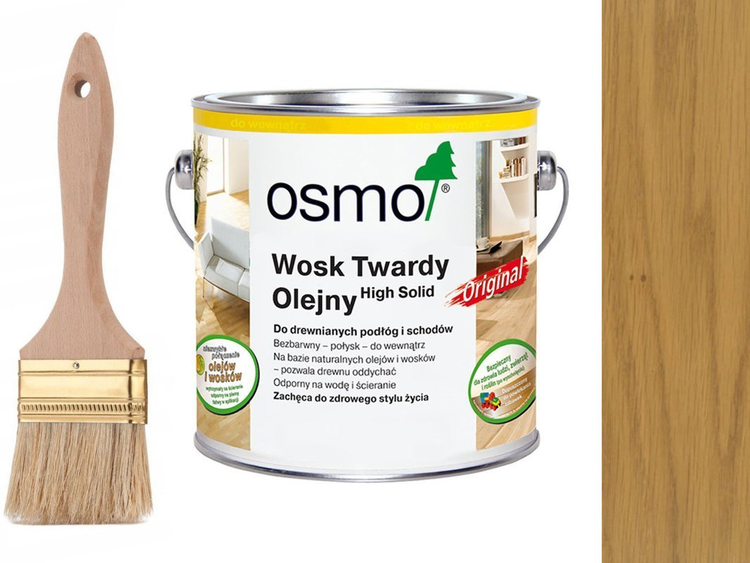 OSMO 3065 wosk twardy olej 10 L BEZBARWNY PÓŁMAT