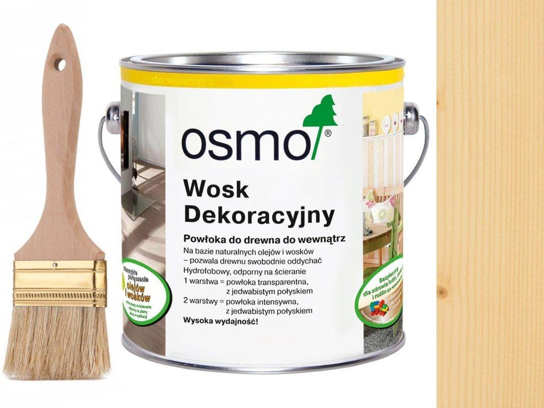 OSMO 3101 wosk dekoracyjny BEZBARWNY 2,5L