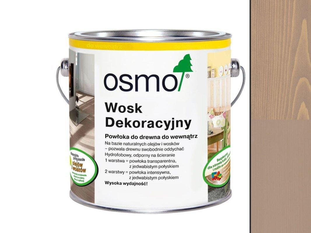 OSMO 3132  wosk dekoracyjny IRCHOWO SZARY 0,75L