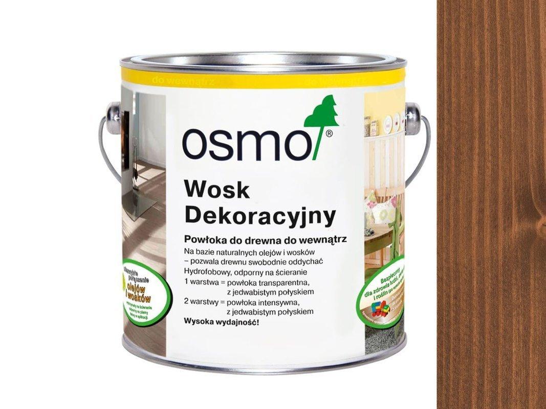 OSMO 3138 wosk dekoracyjny KOLOR MAHOŃ 0,125L