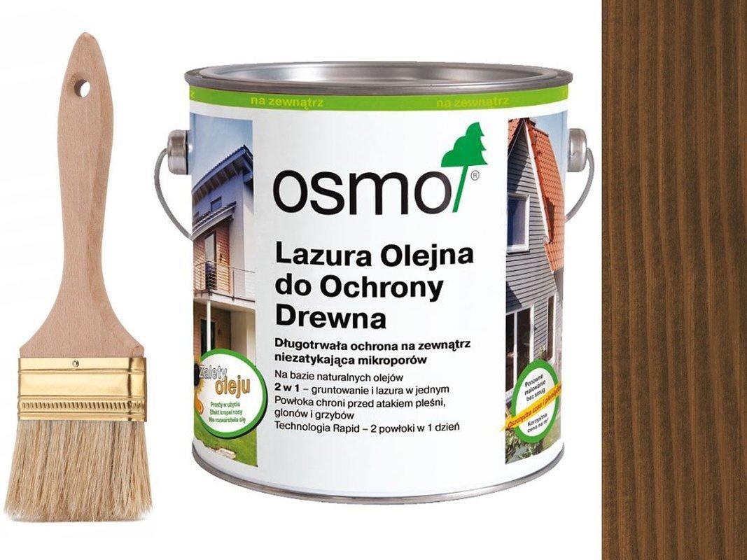 OSMO 707 Lazura Ochronna do drewna ORZECH 0,75L
