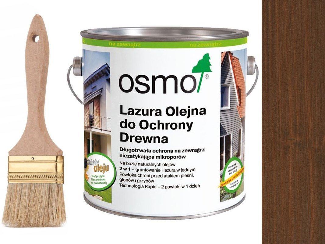 OSMO 708 Lazura Ochronna do drewna TEAK 750ml