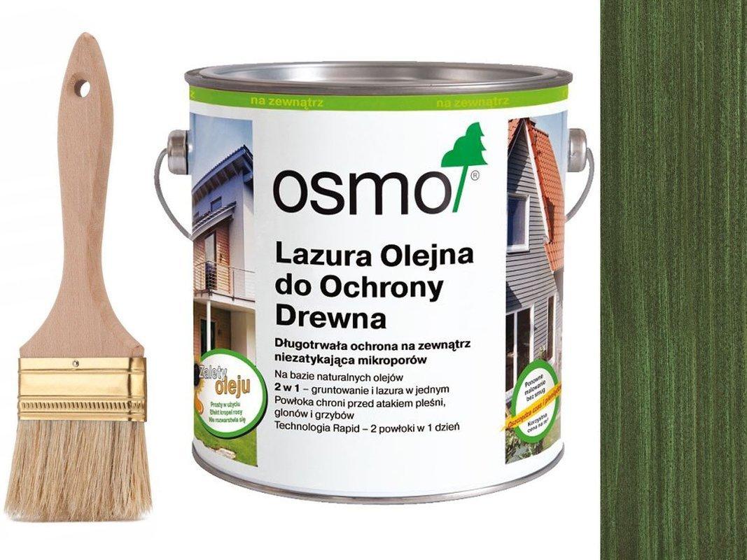 OSMO 729 Lazura Ochronna do drewna ZIELONY 0,75L