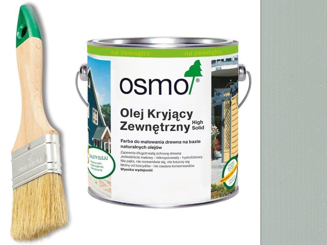 OSMO Olej Kryjący 2735 JASNY SZARY 25L + GRATIS